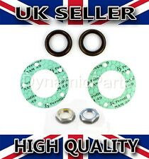 REAR AXLE HALF SHAFT GASKETS + HUB SEALS + NUTS KIT FOR FORD TRANSIT MK7 06-13