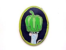 Disney Pin Ratatouille Remy's Hide and Squeak 2015 - Green Bell Pepper [110685]