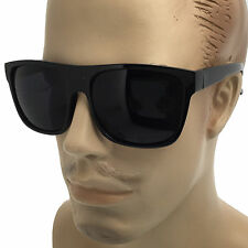 Super Dark Lens MENS Large Black Cholo Gangster Sunglasses LOC Lowrider OG Style