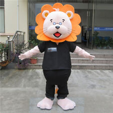 Lion Mascot Costume Suits Halloween Cosplay Party Game Dress Adults Outfits Size