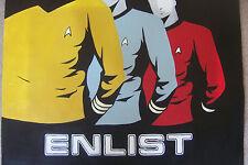 STAR TREK pittura ad olio non REGALO 20X20 Starfleet Academy Klingon Enterprise