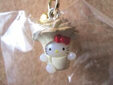 Sanrio Hello Kitty Burn Mai Netsuke Charm Mascot Cell Phone Strap Japan New