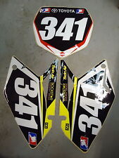 Suzuki RMZ250 2007-2009 One Industries Nico Izzi black background set RM1212