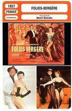 FICHE CINEMA : FOLIES-BERGERE - Constantine,Jeanmaire,Decoin 1957