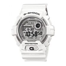 NEW Casio Men G SHOCK 200M Sport White Resin World time Watch G8900A G-8900A-7D