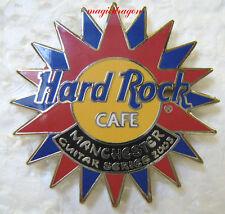 Hard Rock Cafe MANCHESTER Guitar Series Centerpiece .