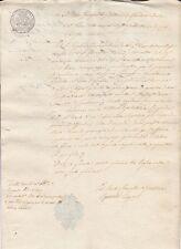 DOCUMENTO 1814 ECCELENTISSIMA CAMERA DI GENOVA  BOLLO DI SOLDI 4 3-19