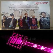 TEENTOP TEEN TOP 12 Cut Posters Bromide NEW+CONCERT LIGHTSTICK KPOP