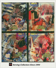SET-1998 Tattslotto AFL Legends 3-D Card Full Set (10)