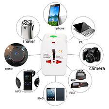 Universal Travel AC Power Charger Travel Adapter Plug Converter AU UK US EU