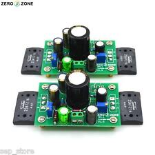 Assembeld PNP A1216 JLH1969 single-ended class A power amp board     R33