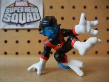 Marvel Super Hero Squad RARE NIGHTCRAWLER Variant Gold Buckle of Apocalypse set