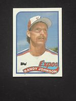 1989 Topps  #647 Randy Johnson *NM or Better* RC-ROOKIE HOF Expos