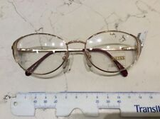 Zeiss 6618 4100 53-17 occhiale vista donna vintage nuovo colore oro