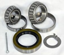 3500 lb Boat Trailer Axle Bearing Kit L44649/10 L68149/10 Bearings 168233TB Seal