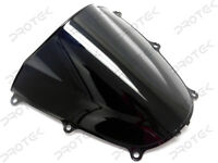 ABS Smoke Black Double Bubble Windscreen Windshield for 2005-2006 Honda CBR600RR