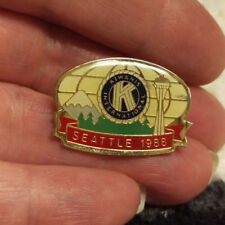 Kiwanis Pin - 1988 Seattle Kiwanis International - Kiwanis Club Pin Space Needle
