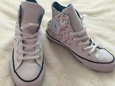NWOB Womens CONVERSE CTAS HI ALL STAR Shoes White Confetti Size 7 162924F