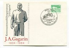 1984 J A Gagarin DDR AK Kosmos Berlin Geboren Kulturbund SPACE NASA