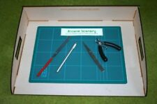 LAPTOP PAINT STATION LASER CUT MDF and TOOL SET