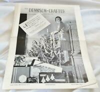 Christmas 1930 The Dennison-Crafter - 8 Page Magazine