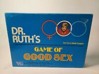 1985 Dr. Ruth's Game of Good Sex by Victory Games 100% Complete! 2-4 Couples