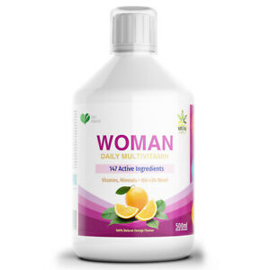 A-Z Multi Vitamins & Minerals For Women One a Day Multivitamin with Supergreens
