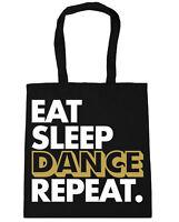 Eat Sleep Shopping Repeat Gymsack White Turnbeutel Essen Schlafen Einkaufen Schu
