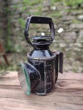 More details for collectable c1950's vintage br railwayman's oil lamp