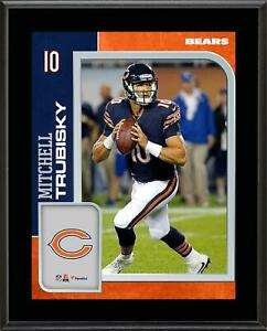 Mitchell Trubisky Chicago Bears 10.5x13 Sublimated Player Plaque - Fanatics