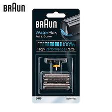 Braun Series 5 WaterFlex Foil & Cutter 51B Shaver foil and cutter Replacement