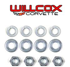 68-76 Corvette Hood Lock (On firewall) nut, washer and lock washer kit