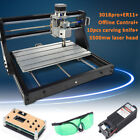 3018 PRO GRBL 3 Axis Laser CNC Wood DIY Mill  Engraving Machine Router +5500mw
