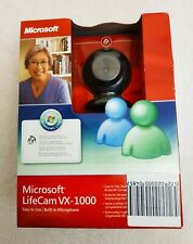 Microsoft LifeCam VX-1000 USB 2.0 Webcam with Built-in Microphone New