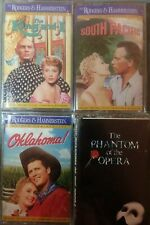 King&I South Pacific Oklahoma Rodgers Hammerstein +Phantom Opera 5x Cassette LOT