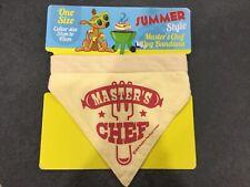Summer Style Master's Chef Dog Bandana