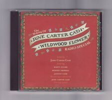 (CD) JUNE CARTER CASH - The Making Of Wildwood Flower Radio Special / PROMO