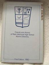 1990 Reitz Memorial High School Alumni Directory Evansville IN W/Don Mattingly