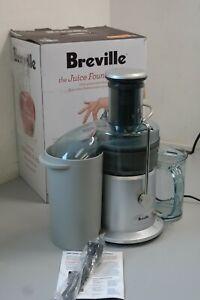 Breville JE98XL Juice Fountain Plus 850-Watt Juice Extractor Extra-w (16A1-US2)