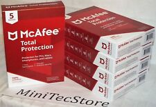 McAfee Total Protection 5 Devices 1 Year Subscription Android Mac Windows iOS