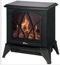 Termoventilador Classic Flame Calefactor Eléctrico 750w A 1500w