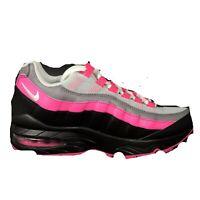 Nike Air Max 95 Pink Blast/White/Black 905348-030 Womens SZ 8.5 Kids Size 7Y New