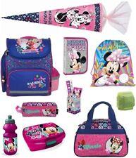 Minnie Mouse Schulranzen Set 17tl.Schultüte 85 Federmappe Sporttasche Maus rosa
