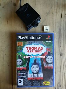 Thomas & Friends A Day At The Races PS2 With Eye Toy - Exc.Condition & COMPLETE.