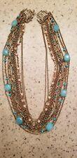 Stephen Dweck vintage brass necklace