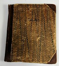 Reading Pennsylvania PA 1883 - 1887 Handwritten Account Book Ledger