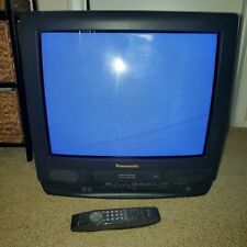"""Panasonic PV-C2023 20"""" Color CRT TV/VCR/FM Combo Retro Gaming with remote *READ*"""