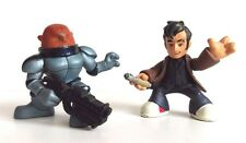 DOCTOR WHO TIME SQUAD FIGURES - Tenth Doctor and Sontaran