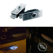 2xLed Logo Light Shadow Projector Car Door Courtesy Laser for Mini Cooper R36 R5