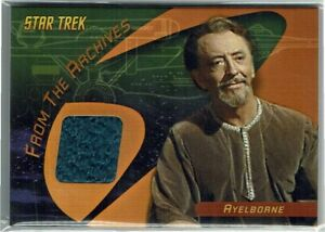 Star Trek 40th Anniversary Costume Card From the Archives C8 Ayelborne